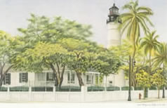 Key West Lighthouse notecards