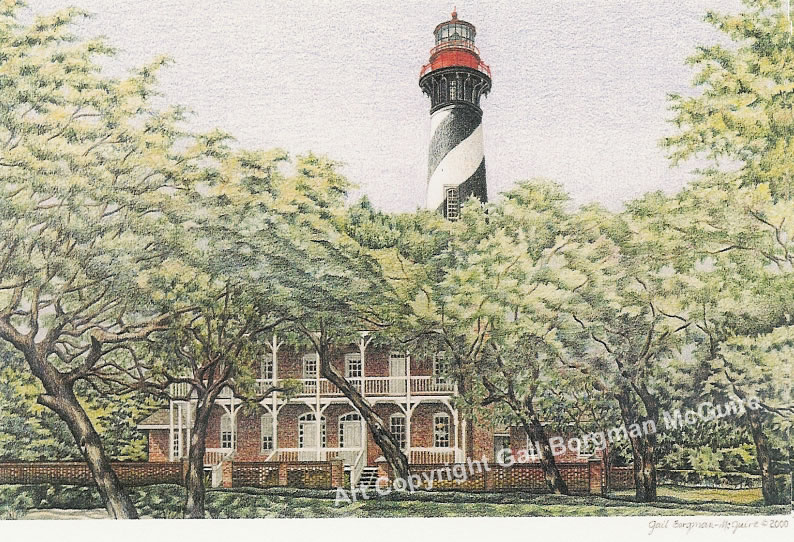 St. Augustine Lighthouse notecard