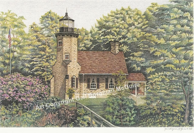 White River Lighthouse notecard