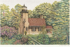 White River Lighthouse notecards